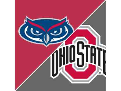 4 Ohio State vs Florida Atlantic Tickets and 2 Hotel Rooms at the LeVeque Hotel