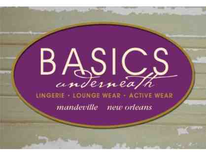 Basics Underneath Fine Lingerie or Basics Swim & Gym - Private Party