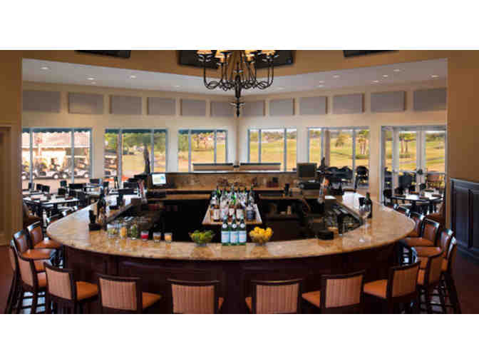 Lunch for two at Malcolm's Bar & Grill, located at LPGA International