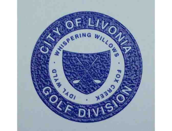 City of Livonia Golf Division Foursome Gift Certificate for 9 holes of golf