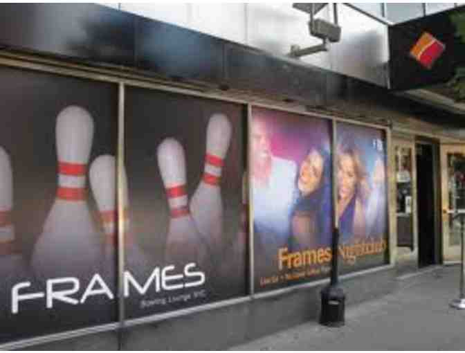 Frames Bowling- Up to 6 Guests for One Hour of Bowling $70