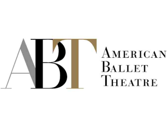 American Ballet Theatre - Two Tickets for the 2019/2020 Season at Metropolitan Opera House