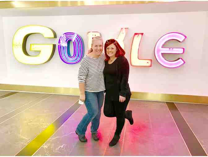 Tour of Google and Lunch for 3 with a Senior Executive