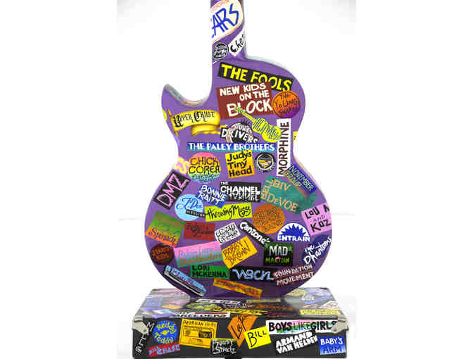 The Boston Rocks Guitar