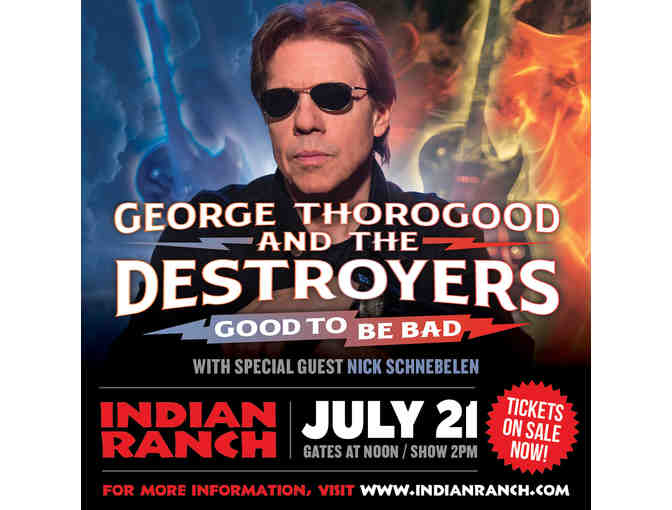 George Thorogood and The Destroyers Tickets and Meet and Greet - Photo 1
