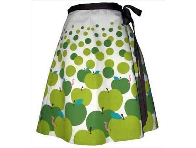 Granny Smith Apple Pickin' Skirt - Hand Screenprinted - Photo 1