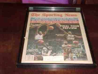 1982 Final Four Autographed Basketball Issue