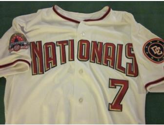 Washington Nationals Game Worn Jersey