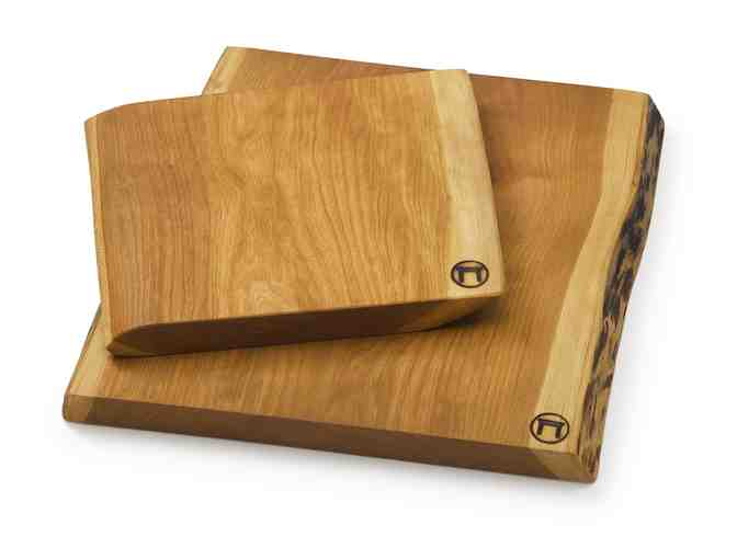Medium Live Edge Cherry Cutting Board from Vermont Farm Table