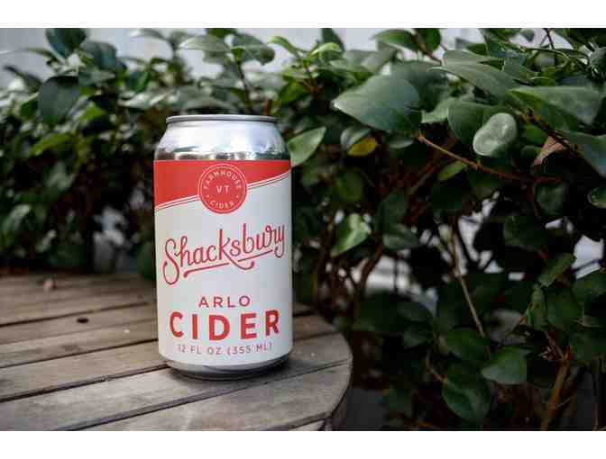 A 4-pack of Shacksbury Arlo Cider - Photo 1