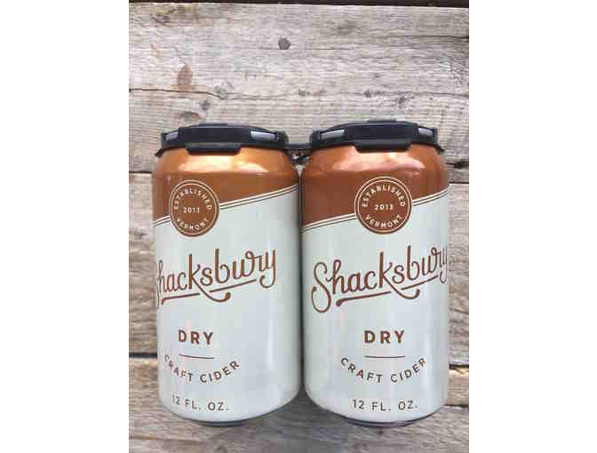 A 4-pack of Shacksbury Dry Cider - Photo 2