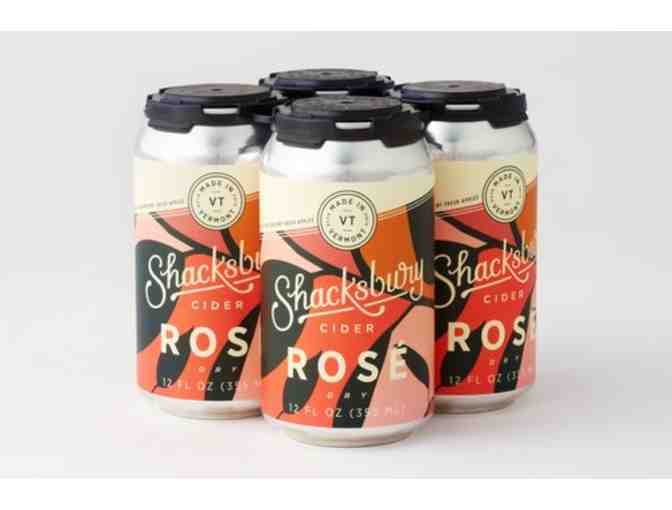 A 4-pack of Shacksbury Rose - Photo 1