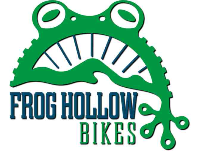 $100 Gift Certificate for Frog Hollow Bikes
