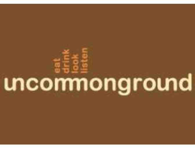 $20 Gift Card to Uncommon Ground