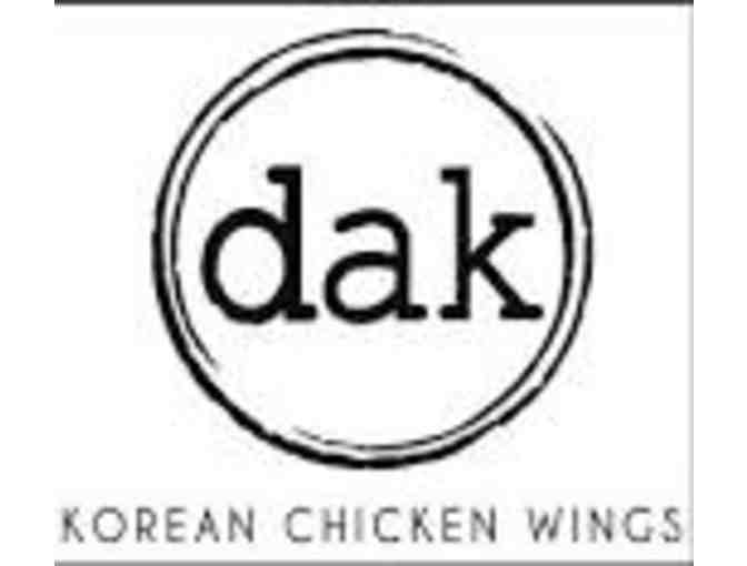 $20 Gift Card to Dak Korean Chicken Wings