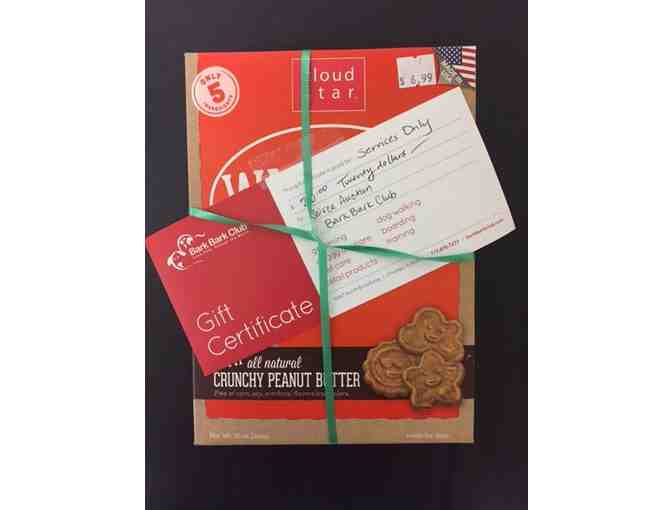 $20 Gift Certificate to Bark Bark Club + Dog Treats