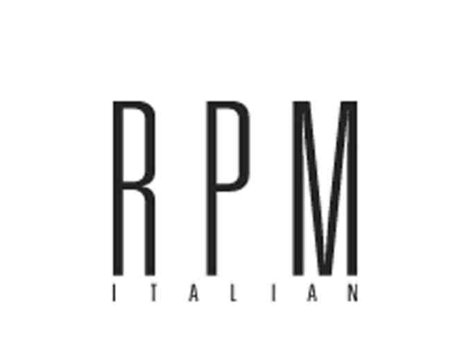 $100 Gift Card to RPM Italian