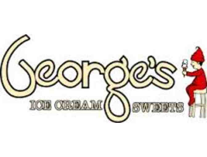 $15 Gift Card to George's Ice Cream and Sweets