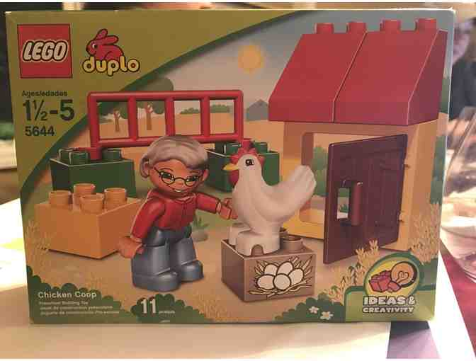 $15 Target gift card and Lego Duplo Set