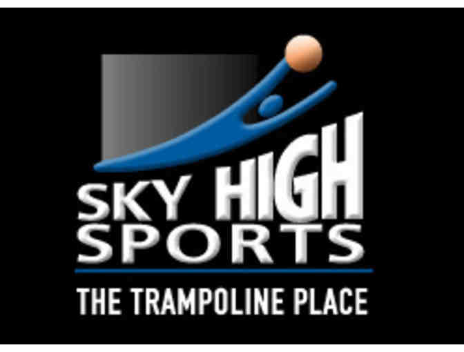 Four (4) 1-Hour Jumping at Sky High Sports Trampoline Park in Niles