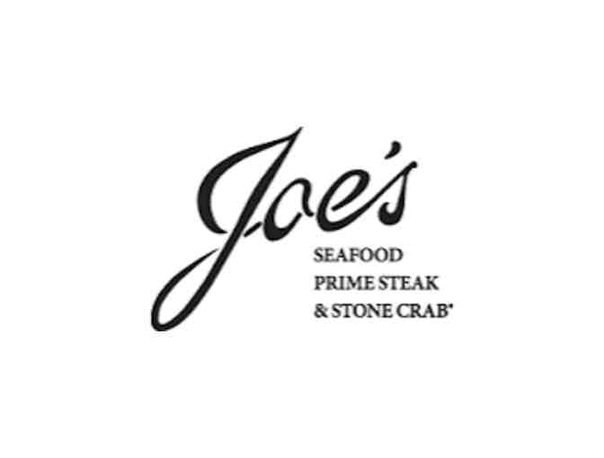 $100 Gift Certificate to Joe's Seafood,  Prime Steak & Stone Crab