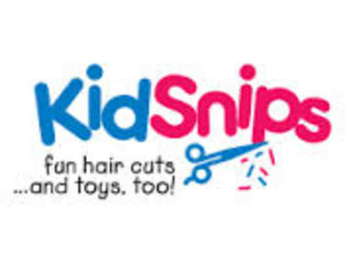 Child's haircut & toy from Kidsnips