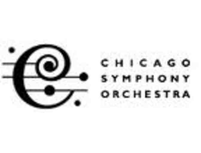 2 tickets to a Chicago Symphony Orchestra