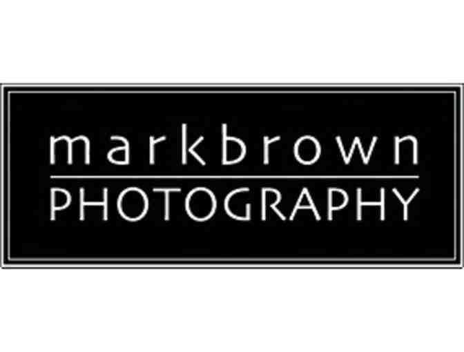 Photography session with Mark Brown + a $200 Framing Credit