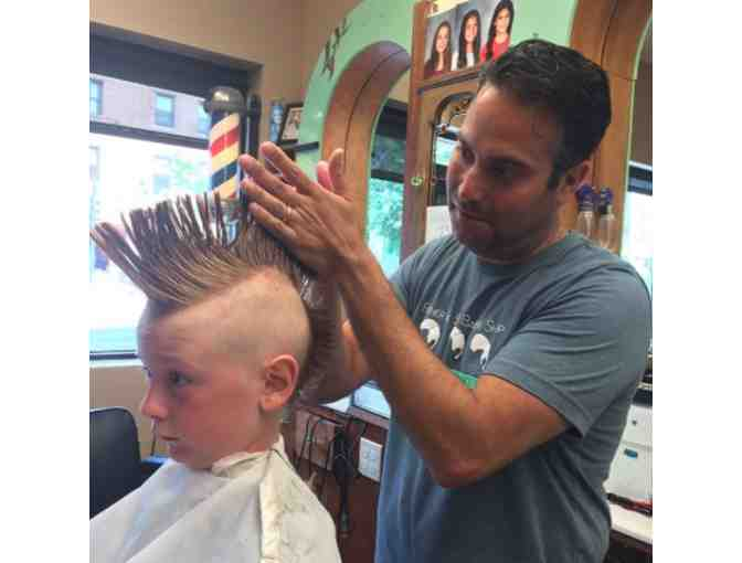 Father and Son Barber Style Pack - Includes 2 Haircuts and Product!