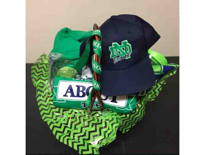 Notre Dame College Prep Swag Bag! (Basket)