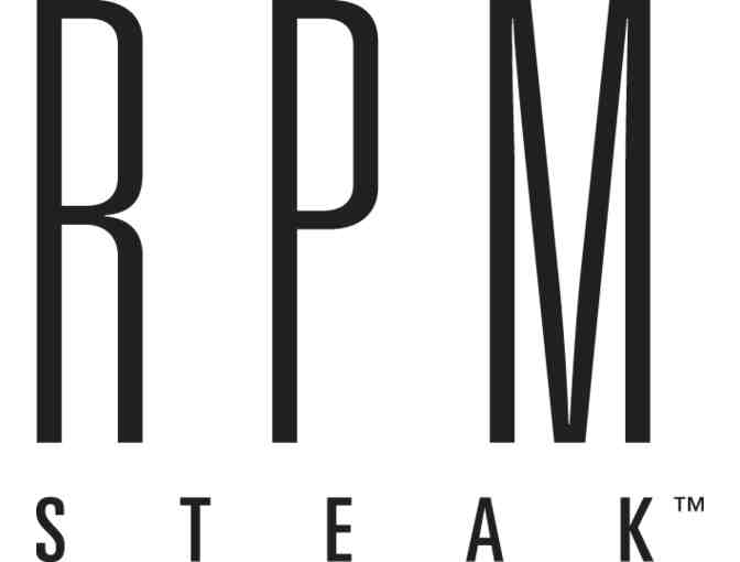 $100 Gift Certificate to RPM Steak