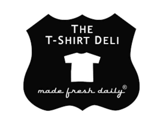 $25 gift certificate to T-Shirt Deli