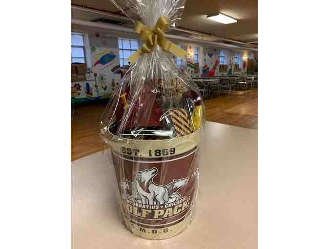 St. Ignatius College Prep Spirit Wear Basket