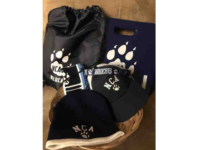 NCA Spirit Gear Swag Basket