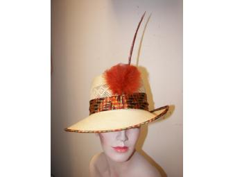 One-of-a-Kind Handmade Hat