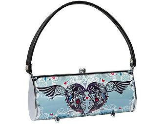 Littlearth Winged Heart Fender Ecofashion Purse Handbag