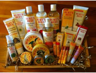Basket of Burt's Bees