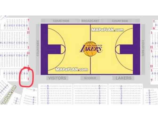 (2) Los Angeles Lakers Tickets - Photo 2
