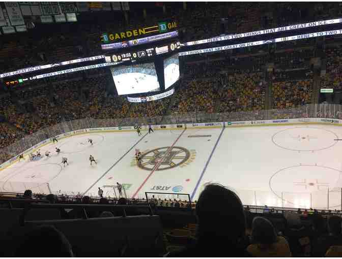 Boston Bruins-2 tickets vs. Tampa Bay   Tuesday, April 4, 2017  7pm at T.D. Garden, Boston