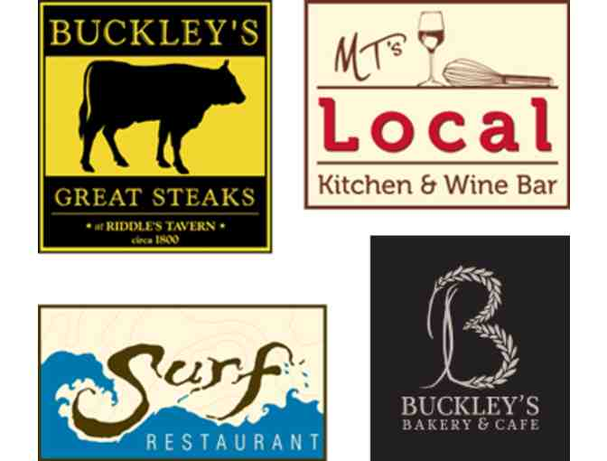 Michael Timothy's Dining Group $100 gift card