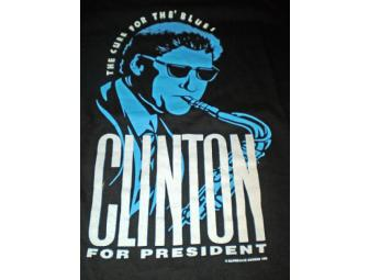 Clinton for President - A Cure for the Blues T-Shirt