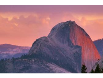 Half Dome at Sunset Print