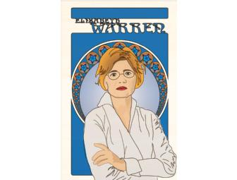 One-of-a-Kind Elizabeth Warren Poster