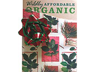 Signed 'Wildly Affordable Organic'