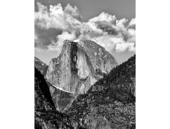 'Half Dome' - Original 11' x 14' B&W Photograph