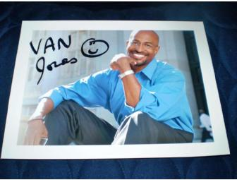 Autographed Van Jones Photo