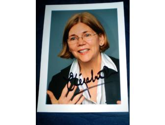 Autographed Elizabeth Warren Photo
