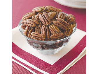 Sweet & Spicy Spiced Pecans