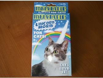 Inflatable Unicorn Horn for Pooties!