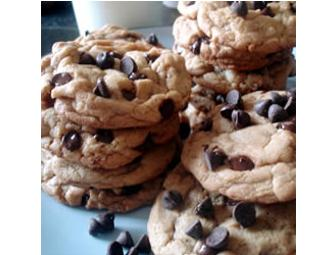 A Bakers Dozen Homemade Chocolate Chip Cookies
